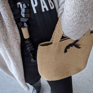 Talbots Bags - Talbot's Woven Handbag